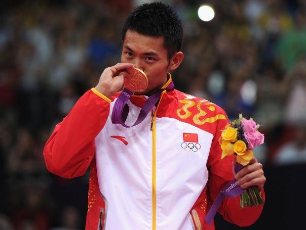 Chińczyk Dan Lin potwierdził klasę w igrzyskach w Londynie (fot. Getty Images)