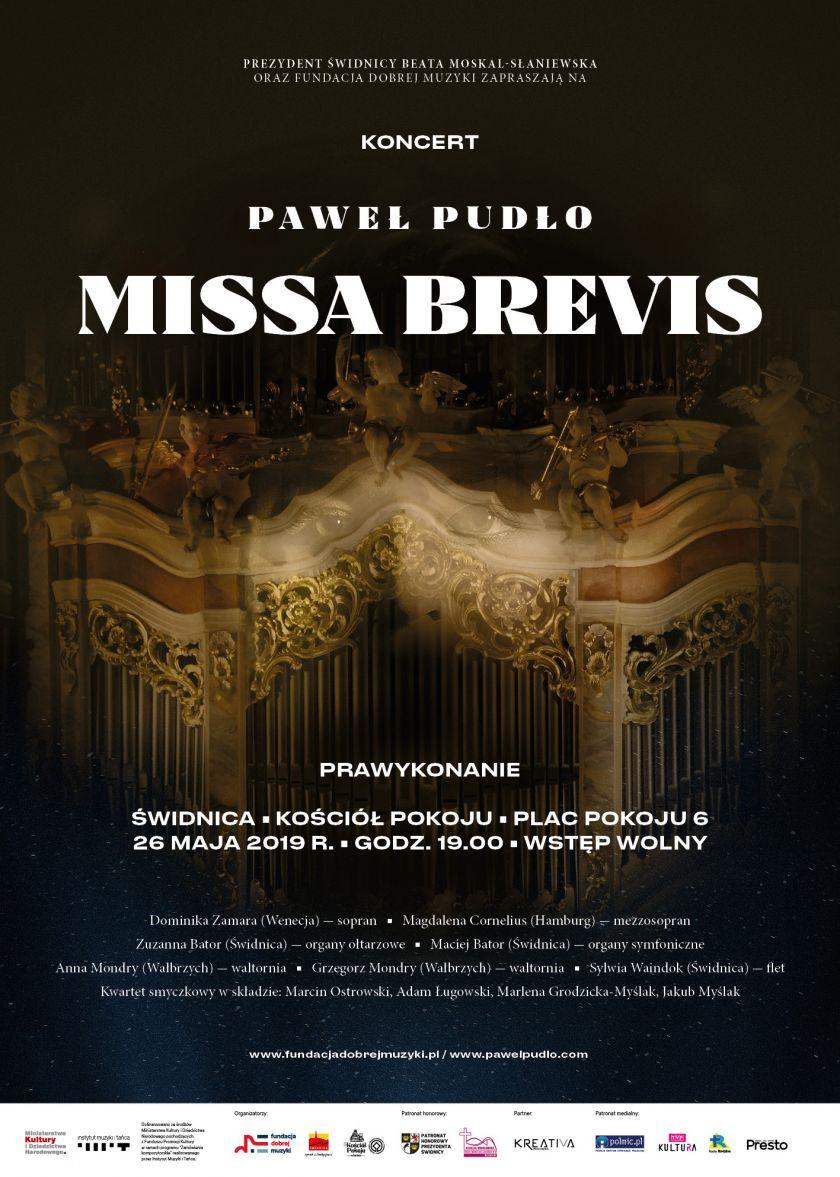 PAWEŁ PUDŁO - MISSA BREVIS