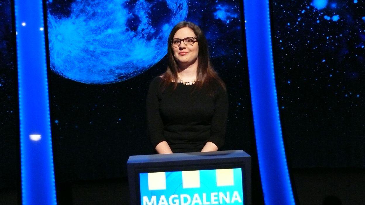 Pani Magdalena już wylosowała swoje stanowisko do rozgrywki 4 odcinka 112 edycji