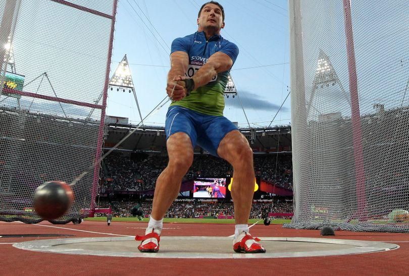 Srebro z wynikem 79,36 m wywalczył Słoweniec Primoz Kozmus (fot. Getty Images)
