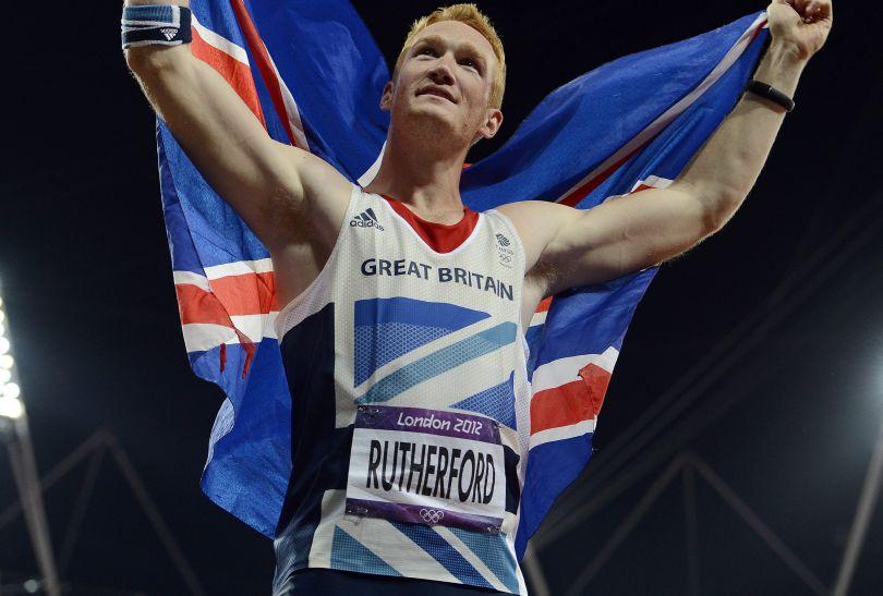Greg Rutherford z Wielkiej Brytanii został mistrzem olimpijskim w skoku w dal (fot. PAP/EPA)