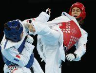 Chorwatka Milica Mandić (P) zdobyła złoto w kategorii powyżej 67 kg (fot. Getty Images)