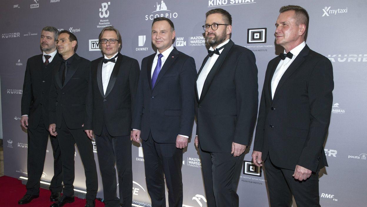 W pokazie wziął udział prezydent Andrzej Duda (Fot. N. Młudzik/TVP)