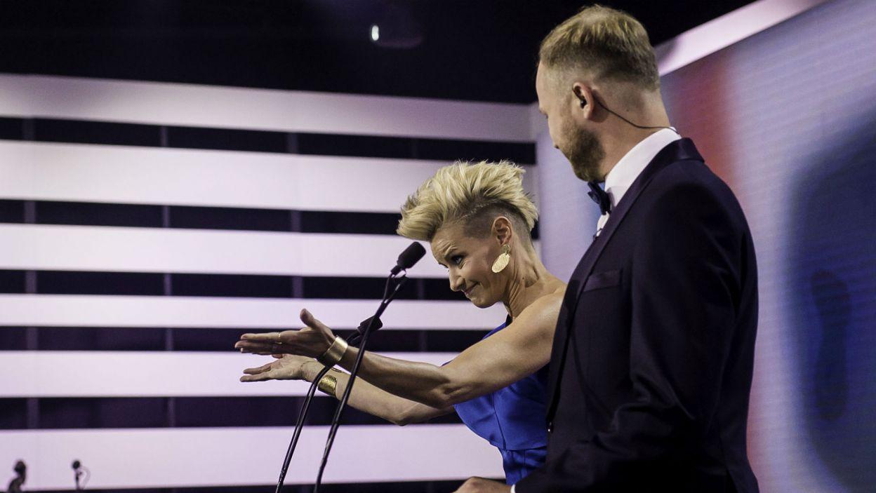 Uroczystą galę poprowadzili Małgorzata Kożuchowska i Grzegorz Kwiecień (fot. S. Loba)