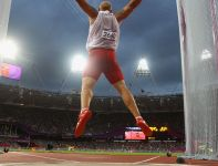 Piotr Małachowski zajął piąte miejsce w konkursie rzutu dyskiem (fot. Getty Images)