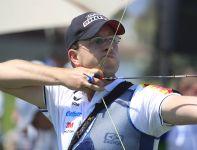 Sebastian Rohrberg z Niemiec podczas zawodów Pucharu Świata w Ogden (fot. Getty Images)