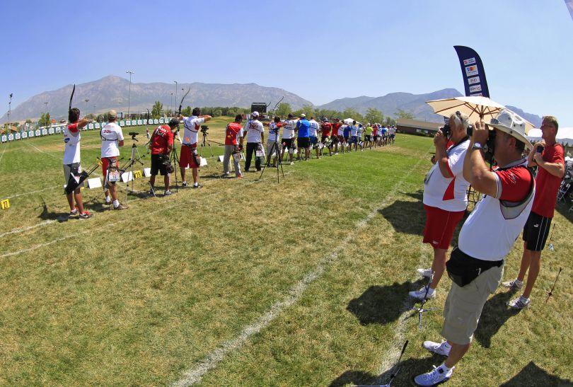 W zawodach w Ogden wzięli udział zawodnicy i zawodniczki z całego świata (fot. Getty Images)