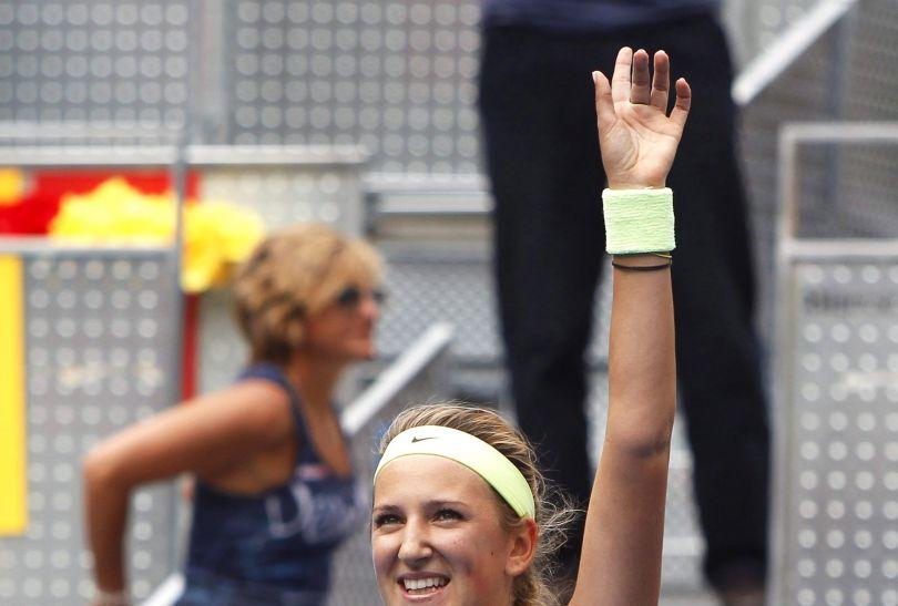 Wiktoria Azarenka jest jedyną tenisitką, która w tym roku potrafi wygrać z Polką (fot. PAP/EPA)