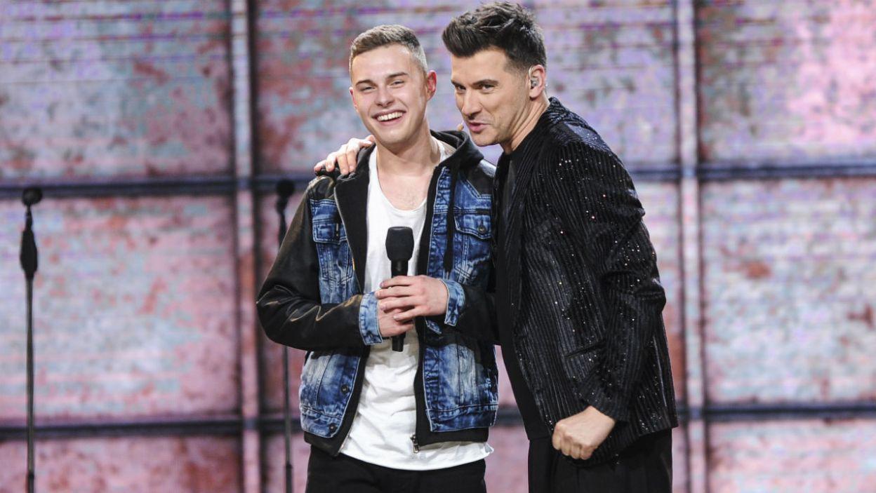 Adam zaraził swoją energią jury? (fot. TVP)