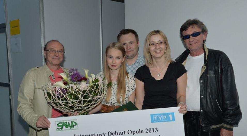 Gratulujemy laureatce!  (fot. Jan Bogacz/TVP)