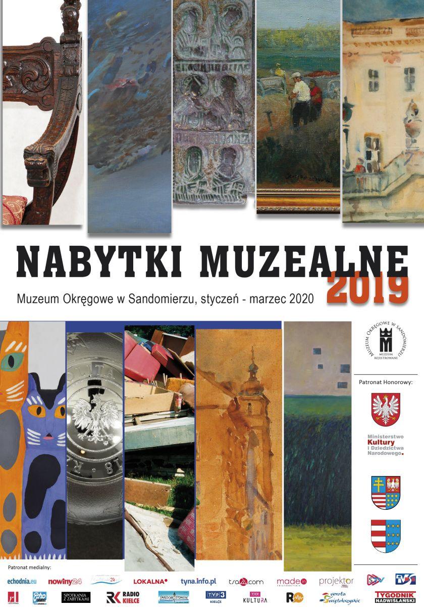 NABYTKI MUZEALNE 2019 / Styczeń – Marzec 2020