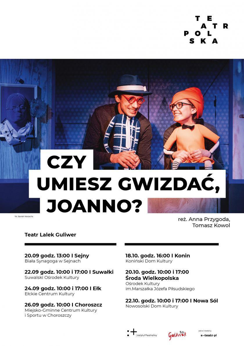 Teatr Lalek Guliwer wyrusza w  Polskę!
