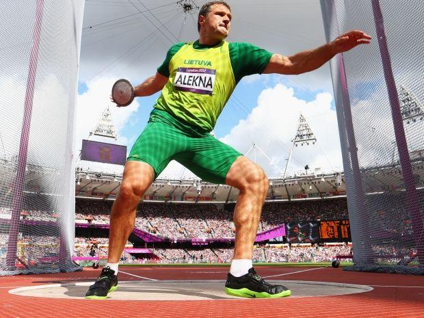 Virgilius Alekna  jest podwójnym mistrzem olimpijskim (fot. Getty Images)