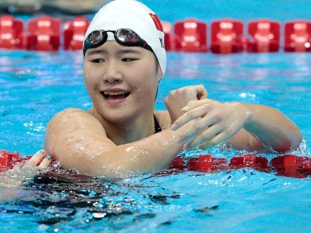 Ye Schiwen po igrzyskach została wielką gwiazdą w Chinach (fot. Getty Images)