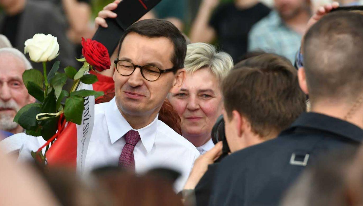 Premier Mateusz Morawiecki (fot. arch. PAP/Piotr Polak)