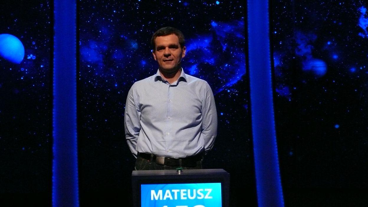 Pan Mateusz Krzywda został jednym z dziesięciu 13 odcinka 114 edycji