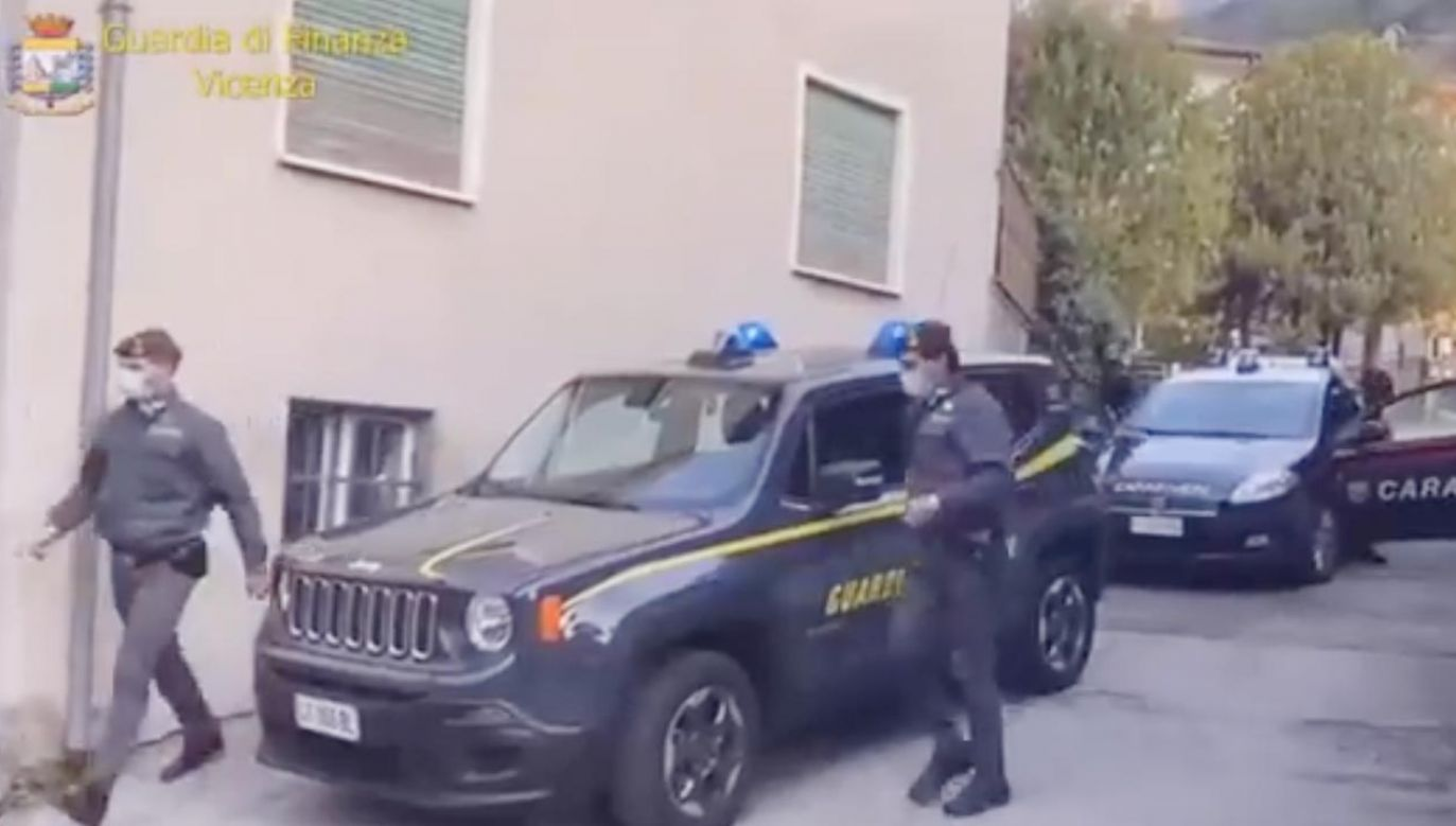 Zatrzymano 6 osób we Włoszech  (fot. TT/Guardia di Finanza)