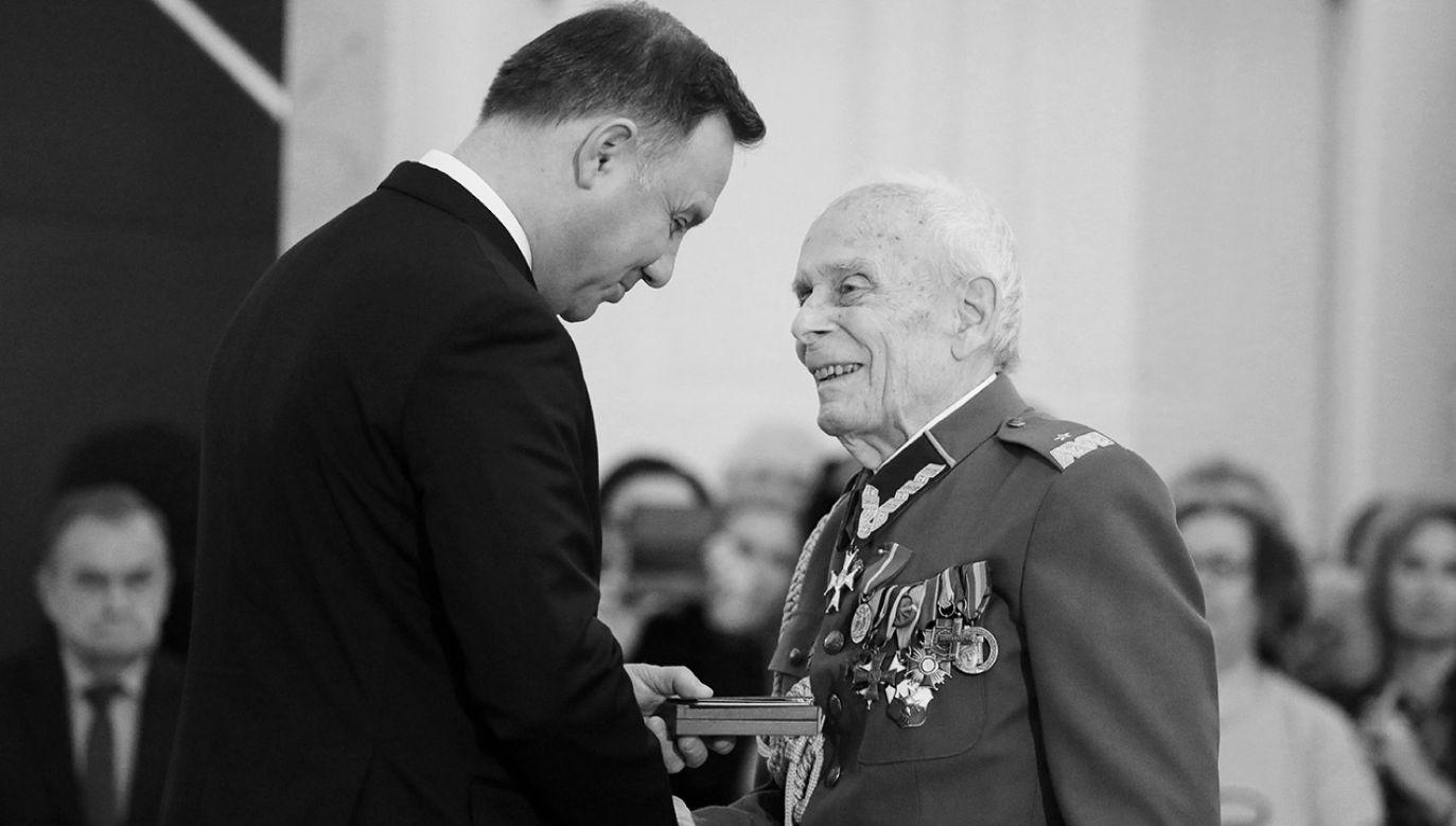 W 2018 r. prezydent Duda wręczył mu awans generalski (fot. arch.PAP/Paweł Supernak)