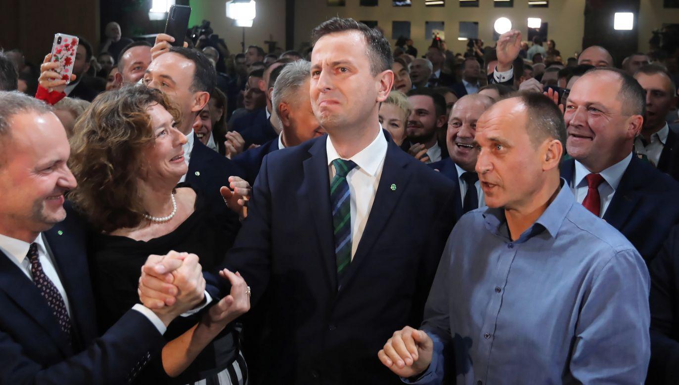 według sondażu exit poll PSL uzyskało 9,6 proc. poparcia (fot. PAP/Wojciech Olkuśnik)