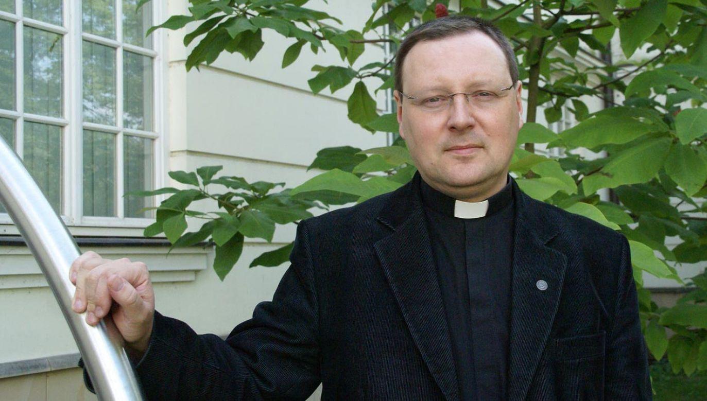 Ks. Jacek Grzybowski (fot. diecezja.waw.pl/)