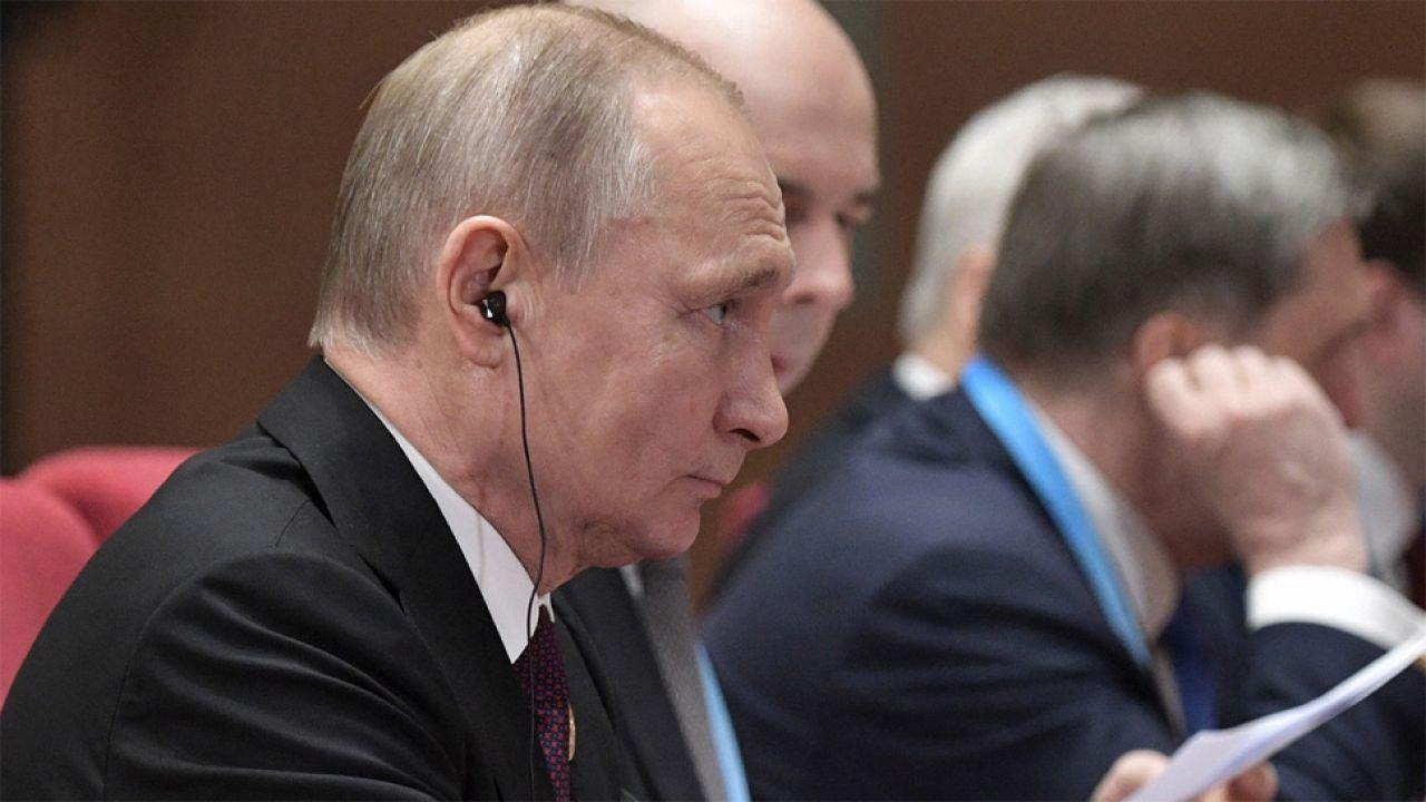 Ustawa podpisana przez Władimira Putina przypuszczalnie wejdzie w życie w listopadzie (fot. PAP/EPA/ALEXEY NIKOLSKY/SPUTNIK/KREMLIN POOL)