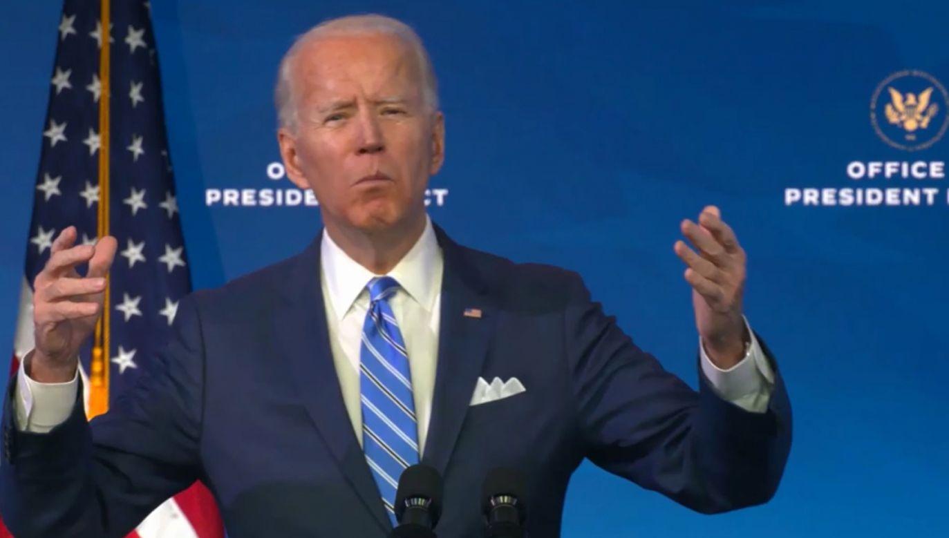 Joe Biden zamierza zająć się pomocą dla osób ponoszących ekonomiczne koszty pandemii (fot. PAP/EPA)