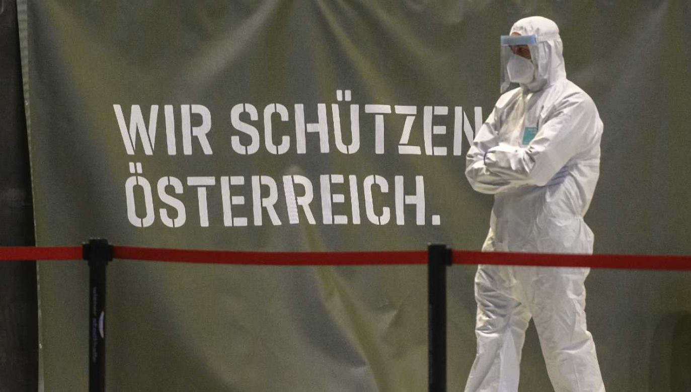 Austria zmaga się z pandemią (fot. PAP/EPA/CHRISTIAN BRUNA)