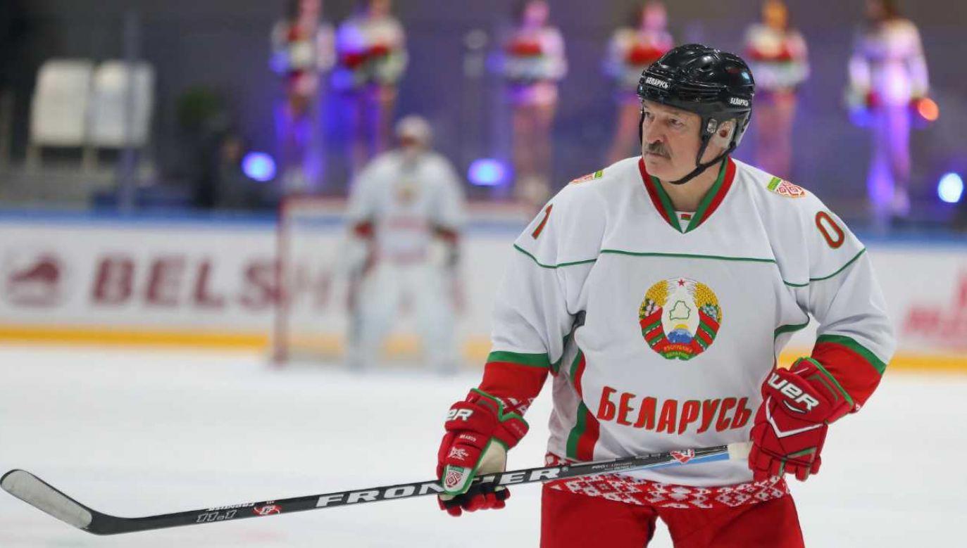 Prezydent Białorusi Alaksandr Łukaszenka zdaje się lekceważyć skalę problemu (fot. PAP/EPA/ANDREI POKUMEIKO / POOL)