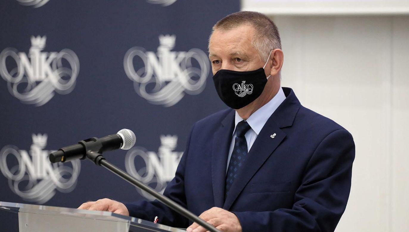Prezes NIK Marian Banaś (fot. PAP/Paweł Supernak)