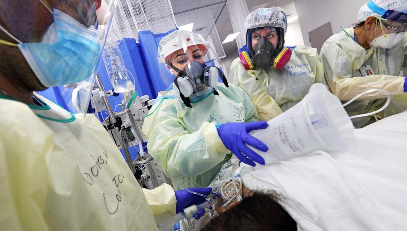 Wiele jeszcze nie wiemy o koronawirusie (fot. Carolyn Cole/Los Angeles Times via Getty Images)