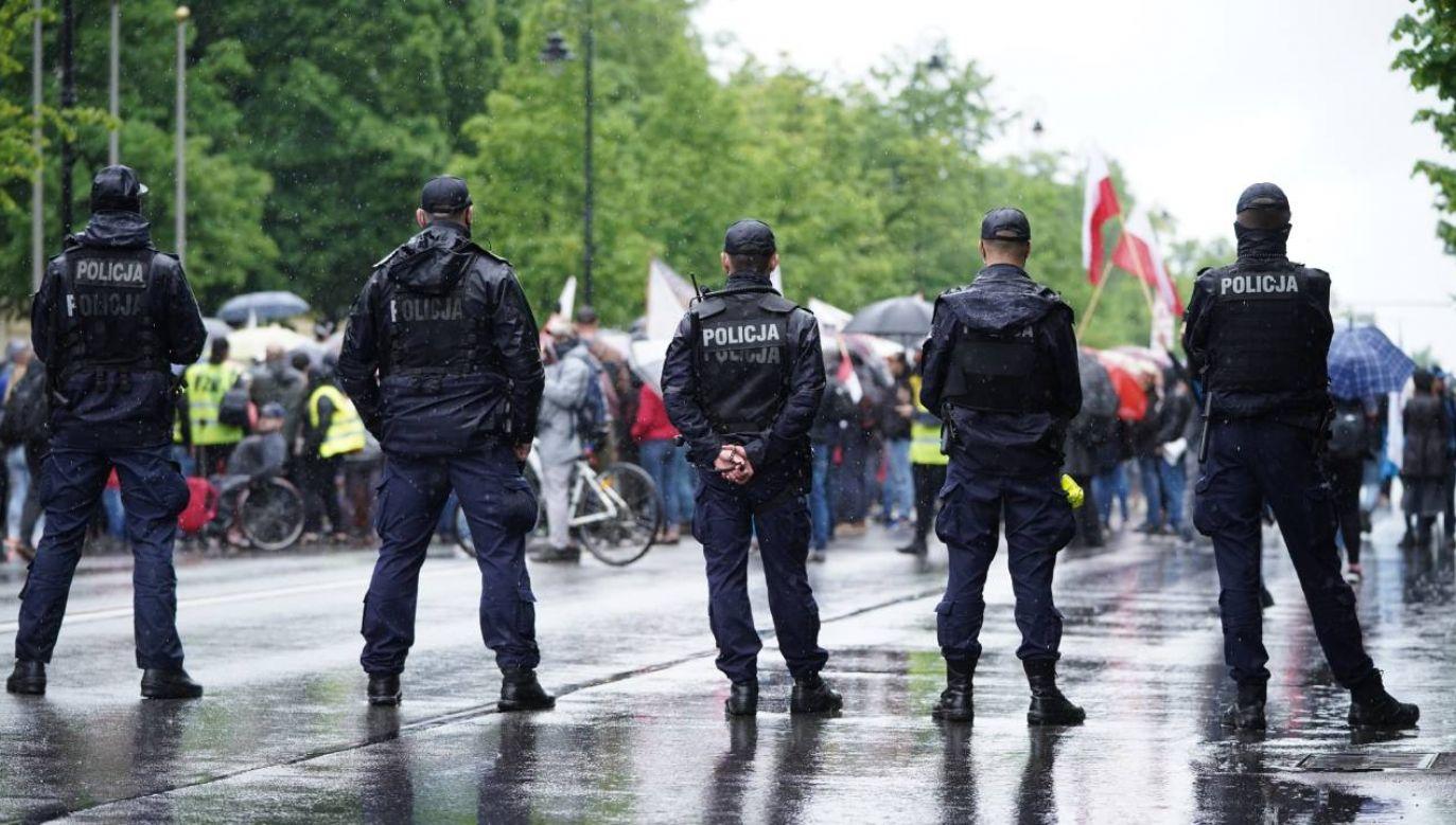 Nie potwierdzają się też informacje ws. niewystawiania mandatów (fot. Forum/Mateusz Wlodarczyk)