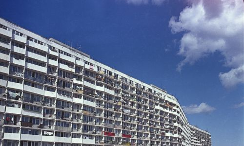 Falowiec na gdańskim osiedlu Przymorze. Fot. PAP/Jan Morek