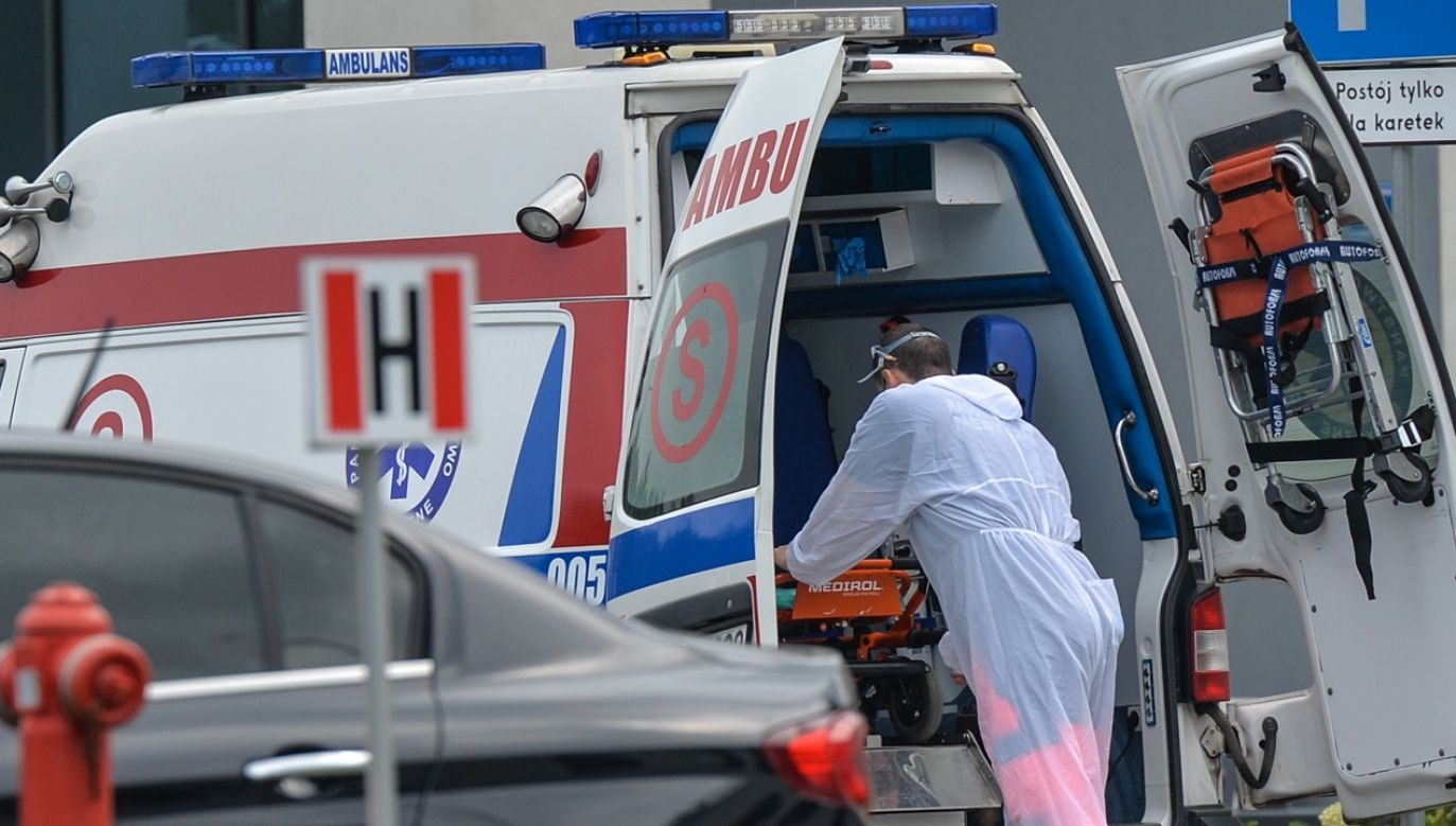 Raport o epidemii koronawirusa w Polsce (fot. A.Widak/NurPhoto/Getty Images)