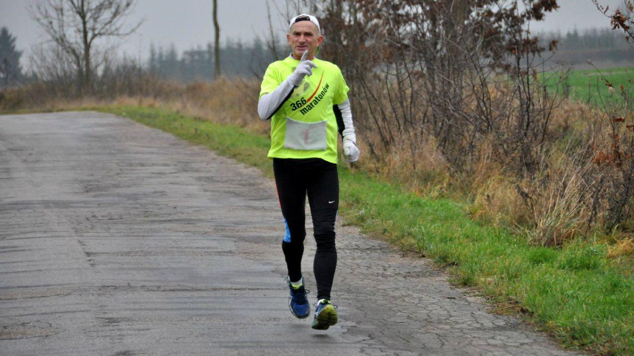 Ryszard Kałaczyński (fot. Facebook/366 maratonów w 366 dni)