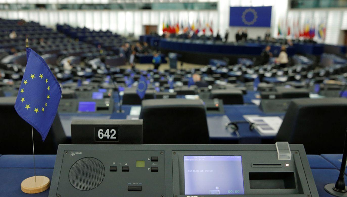 Sprawa edukacji seksualnej była tematem poniedziałkowej wieczornej debaty na sesji plenarnej PE. (fot. REUTERS/Vincent Kessler)
