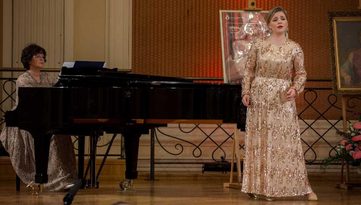 Śpiewaczka operowa Gabriela Gołaszewska otrzymała jedną z nagród (fot. FB/Opera Śląska)