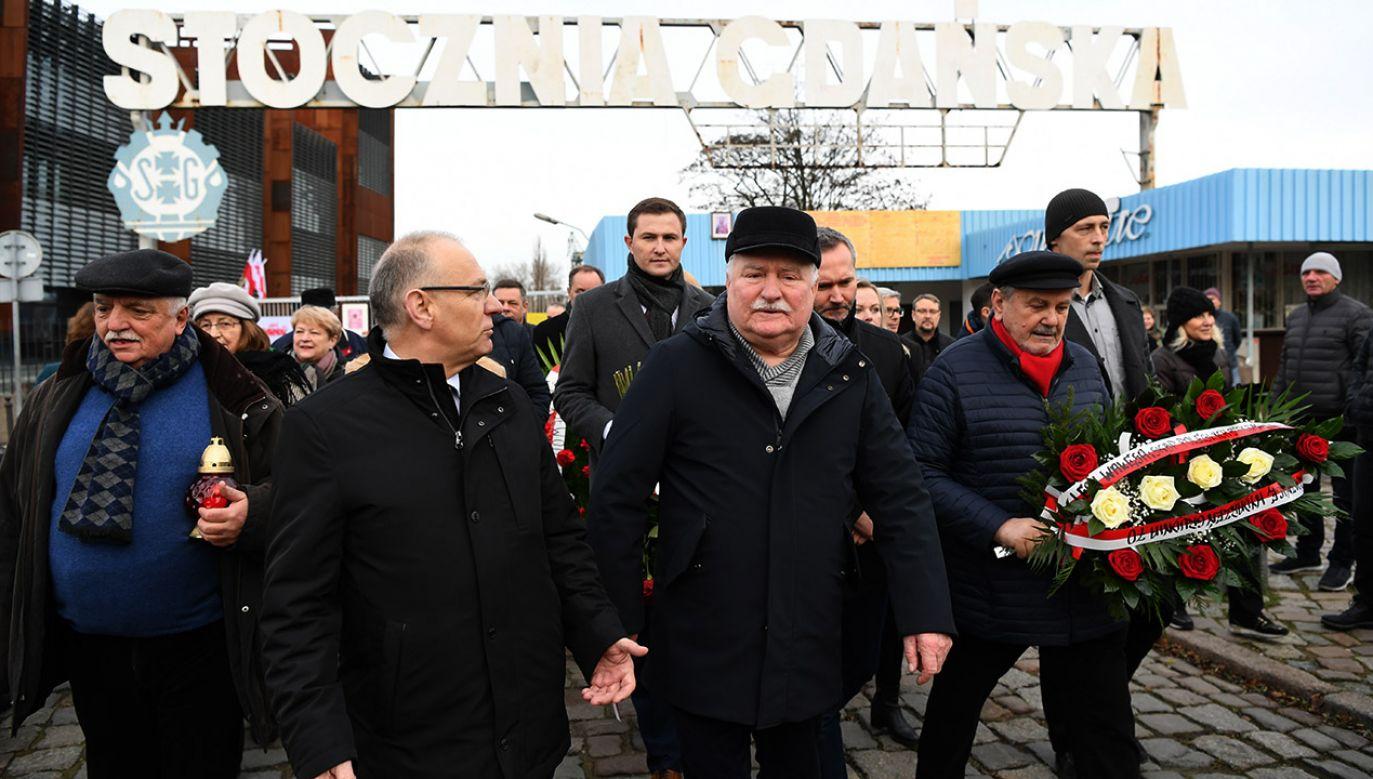 Lech Wałęsa skrytykował głowę państwa (fot. arch.PAP/Adam Warżawa)