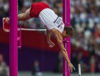 Łukasz Michalski zaliczył tylko 5.50 i zakonczył konkurs skoku o tyczce na 9. miejscu (fot. Getty Images)