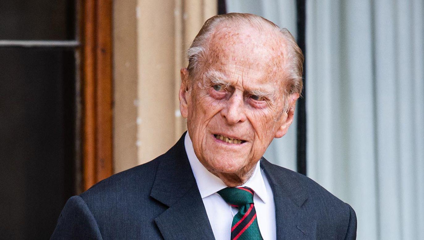 Książę Filip, mąż królowej Elżbiety II (fot. Samir Hussein/ Samir Hussein/WireImage)