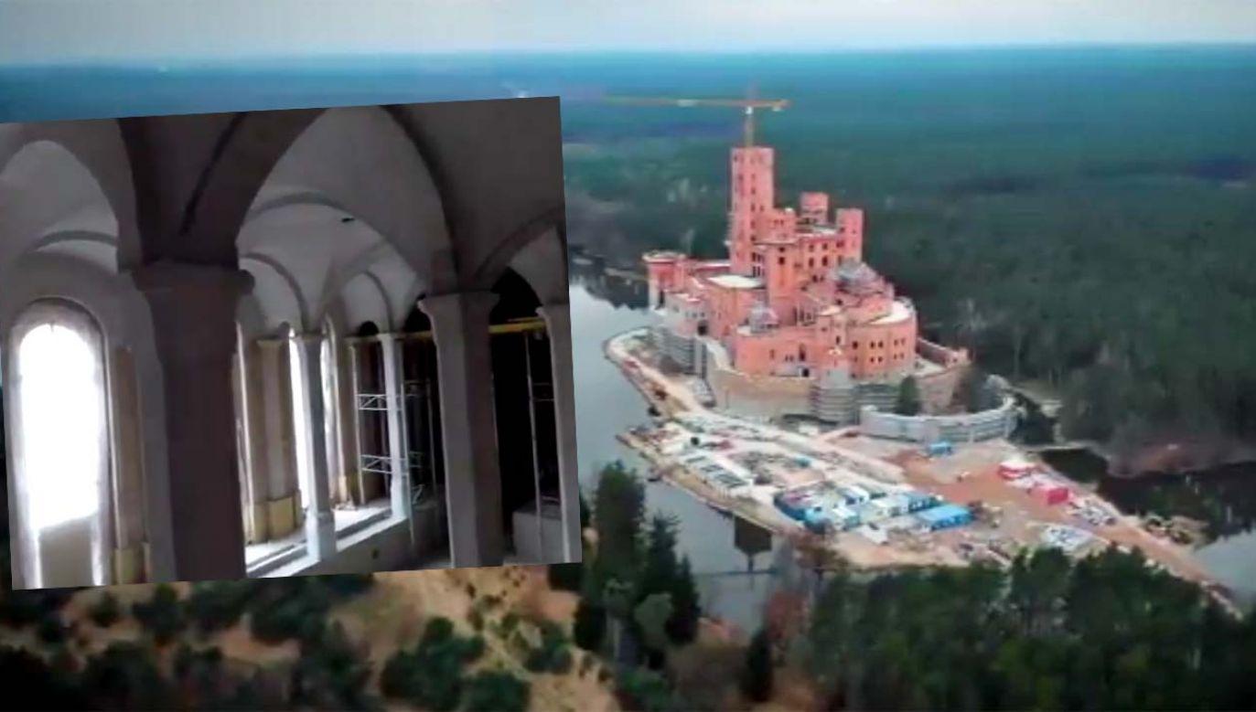 Budowa wzbudza ogromne kontrowersje (fot. TVP1)