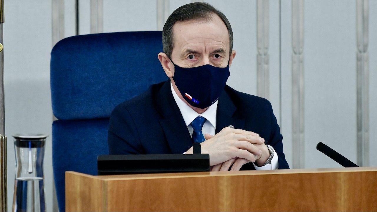 Co zrobi marszałek Tomasz Grodzki? (fot. PAP/Radek Pietruszka)