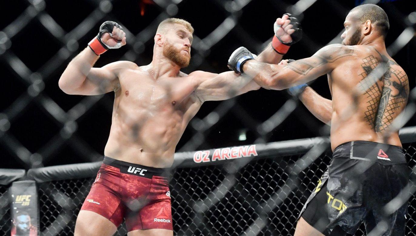 Jan Błachowicz będzie walczył o pas federacji UFC (fot. arch.PAP/CTK Photo/Vit Simanek)