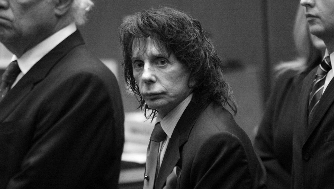 Phil Spector odsiadywał wyrok za morderstwo Lany Clarkson (fot. Al Seib-Pool/Getty Images)