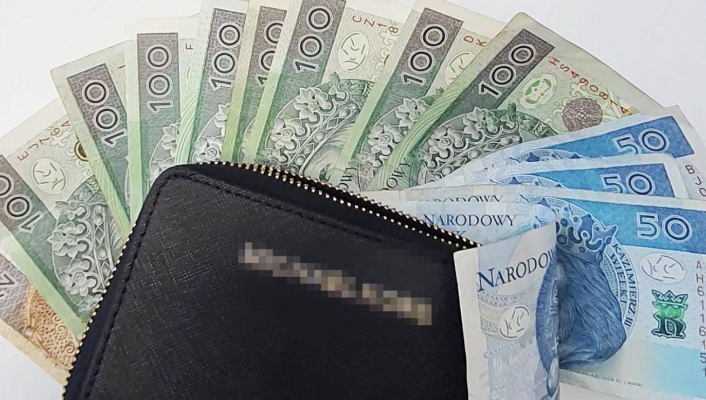 Znalazł portfel i zabrał go ze sobą (fot. Policja)