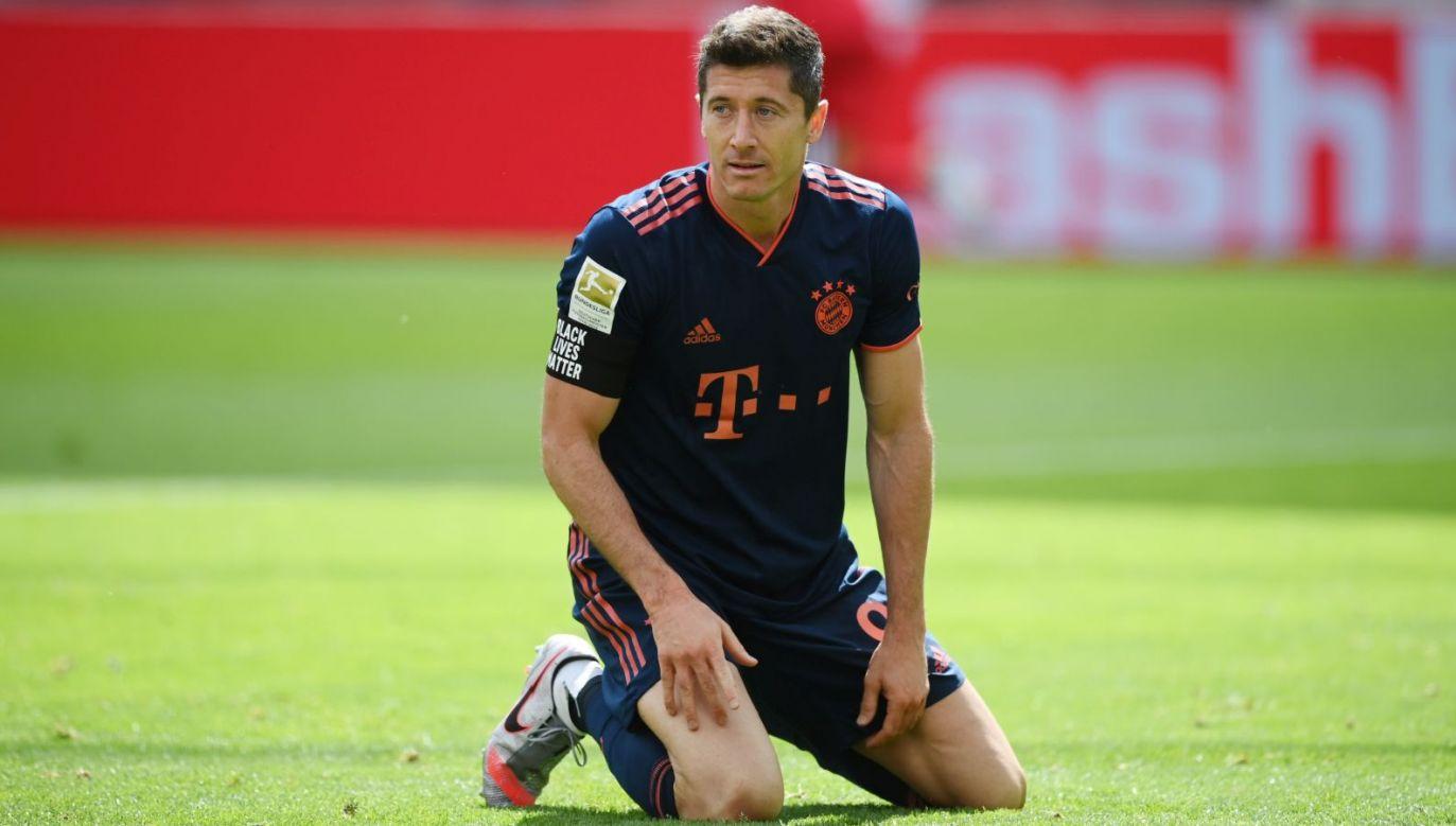 Robert Lewandowski nie zagra w 31. kolejce Bundesligi (fot. Getty Images)