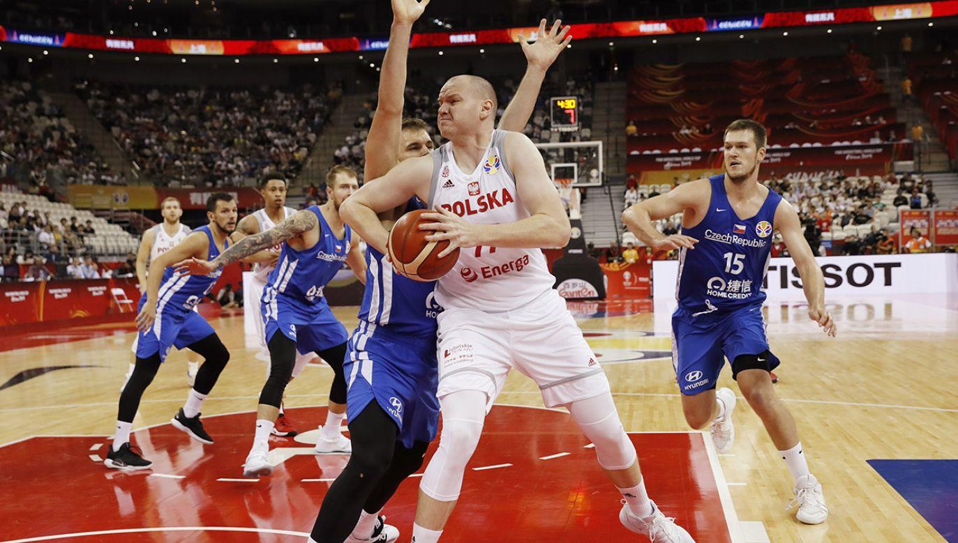 Damian Kulig zdobył 12 punktów w meczu z Czechami (fot. REUTERS/Aly Song)