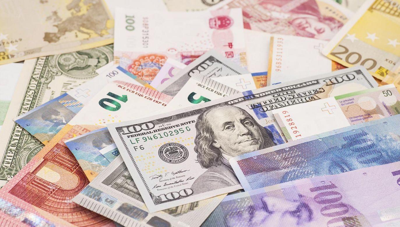 Średnie notowania walut NBP z 17 maja (fot. Shutterstock/PhotoVectorStudio)