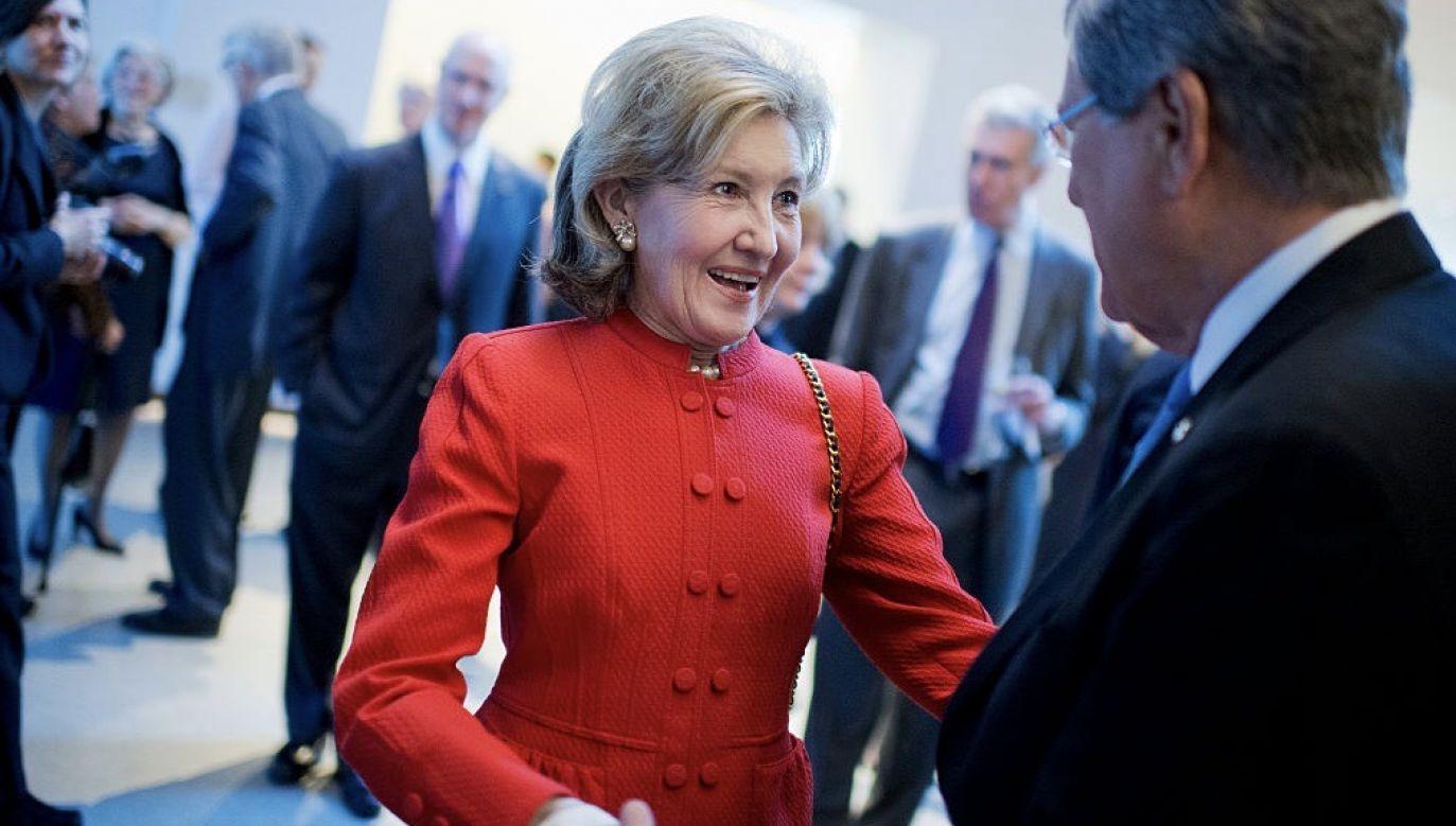 Ambasador USA przy NATO Kay Bailey Hutchinson (fot. Tom Williams/CQ Roll Call)