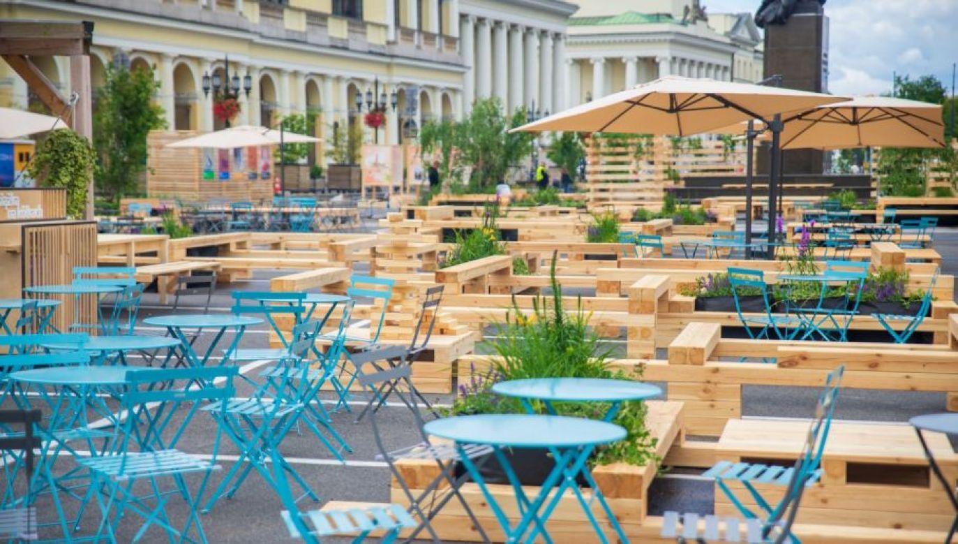 Inwestycja wzbudziła powszechną krytykę (fot. FB/Miasto Stołeczne Warszawa)
