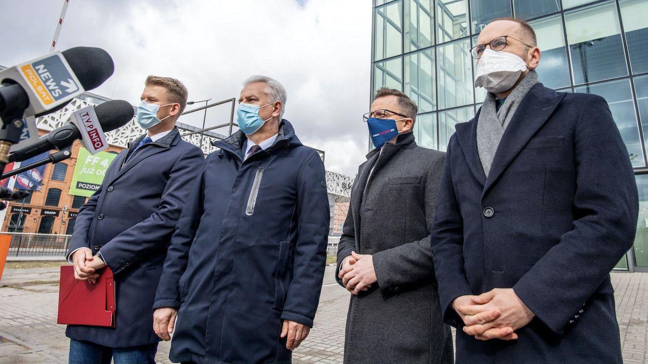 Platforma trwale traci politycznie na znaczeniu (fot. PAP/G.Michałowski)